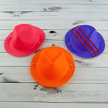 Шляпка мини Мужская пластик