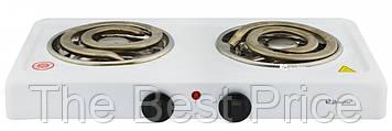 Настольная электроплита Domotec MS-5532 White (большая спираль)