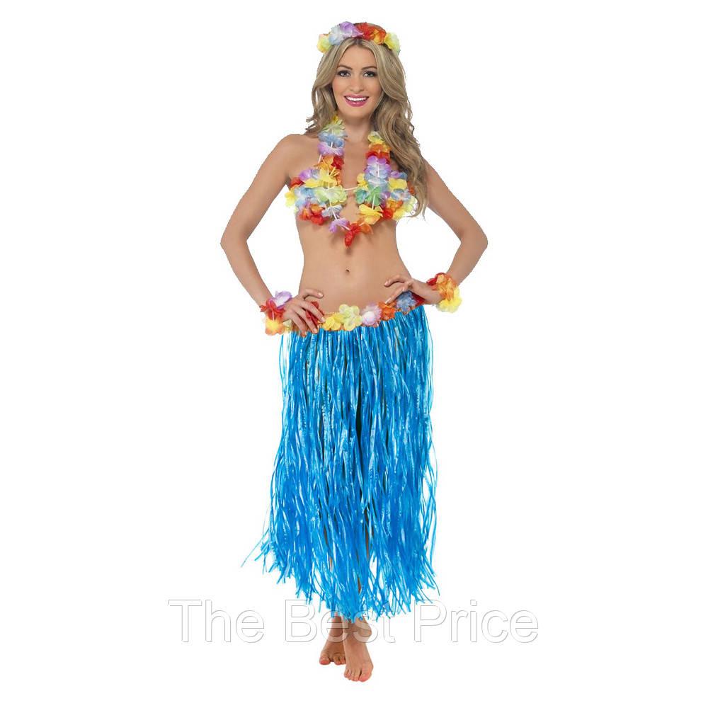 Карнавальный костюм Гавайский (синий)