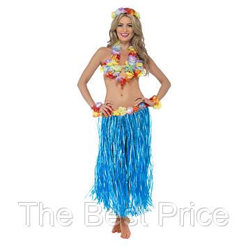 Карнавальний костюм, Гавайська (синій)