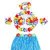 Карнавальный костюм Гавайский (синий), фото 2