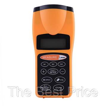 Ультразвуковий далекомір з лазерною указкою з LCD CP-3007 (4253)