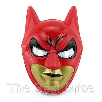 Маска Детская Бэтмен (уп. 12шт) пластик