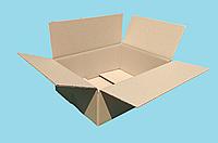 Гофроящики 240*170*100 Картонная коробка вместимостью до 1 кг фактического или объемного веса 240*170*100, фото 1