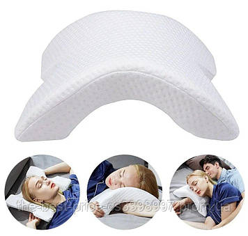 Подушка туннель (изогнутая) с памятью Memory Pillow