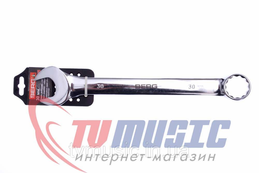 Ключ рожково-накидной Berg 48-324 (30 мм)