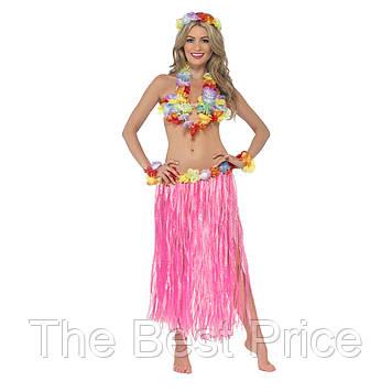 Карнавальный костюм Гавайский (розовый)