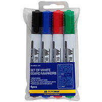 Набор маркеров для доски BuroMax BM.8800-94 2-4 мм 4 шт
