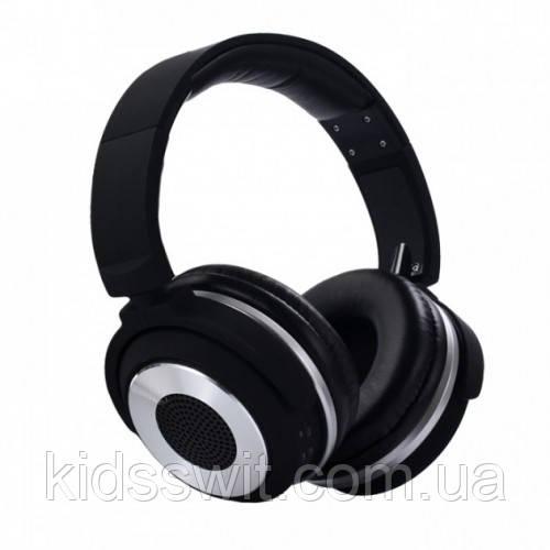 Навушники безпровідні Bluetooth X2 SY-BT1611SP + колонка 2в1 Чорні