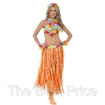 Карнавальний костюм, Гавайська (помаранчевий)