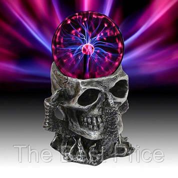 Плазменный Шар Череп Plasma ball S