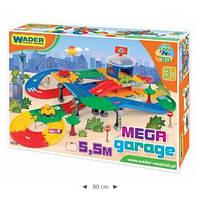 Игровой набор Wader - Kid Cars 3D MEGA garage с трассой 5,5