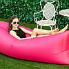 Надувной лежак, шезлонг, диван, мешок, матрас Сумка для переноски Розовый, фото 3