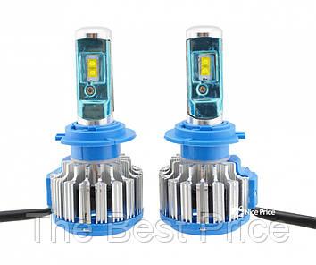 Светодиодные автомобильные лампы Turbo Led T1 H7 35W 3500LM 6000K