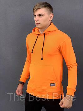 Худи Мужское Intruder Spark оранжевое спортивная кофта трикотаж