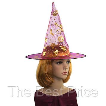 Шляпа Колпак капроновая (малиновая)