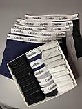Мужские трусы боксеры и носки (5 шт.) + носки (20 пар).(в подарочных коробках.Трусы транки боксеры шорты калви, фото 3