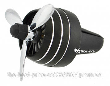 Автомобильный ароматизатор CFK-03-A пропеллер на дефлектор (случайный цвет)