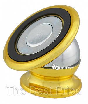 Магнитный держатель для телефона CT690 Золотой
