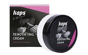 Відновлюючий крем для взуття, рідка шкіра Kaps Renovating Cream25 ml 101 White