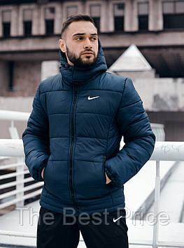 Зимова Куртка Європейка синій