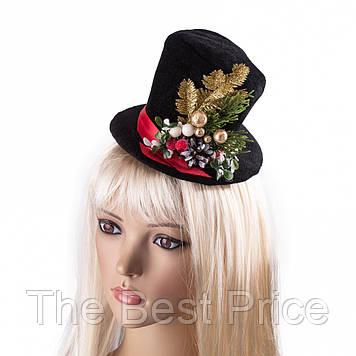 Шляпка новогодняя Хлоя