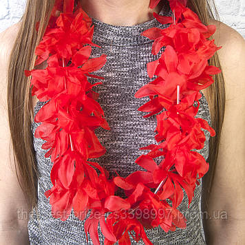 Гавайські леї Гібіскус (червоні)