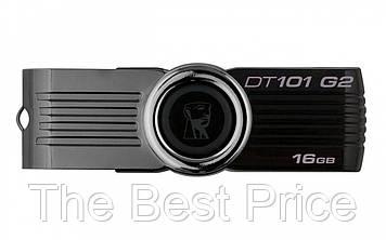 Флеш память USB Kingston DT101 G2 16GB Black