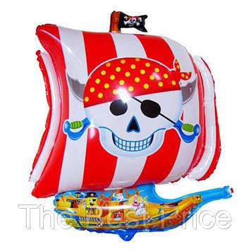 Шарик 65см Пираты