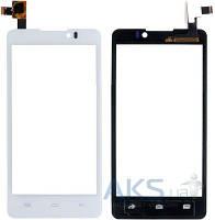 Сенсор (тачскрин) для Prestigio MultiPhone 4505 Duo, Coolpad 7290 Original White