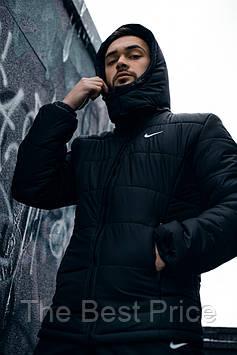 Зимова Куртка чорна Європейка