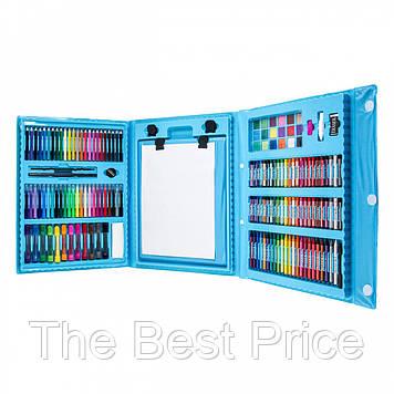 Набор для детского творчества в чемодане из 208 предметов Blue