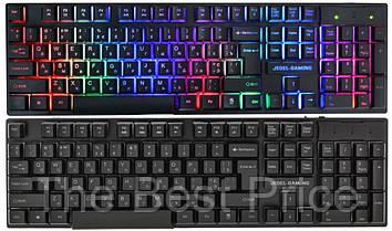 Клавиатура с подсветкой JEDEL K500 Black
