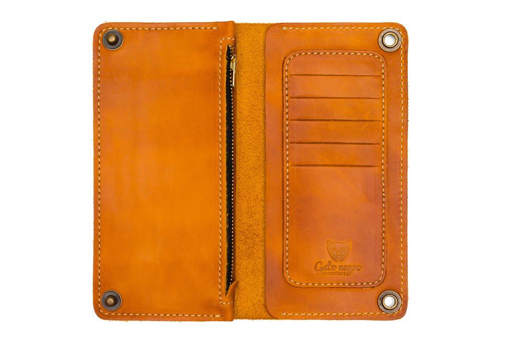 Кожаный кошелек ручной работы 2