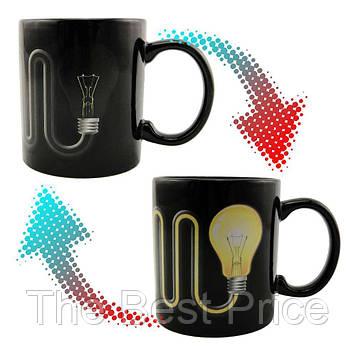 Чашка хамелеон Лампочка с проводом 9009-5