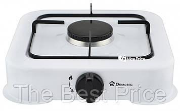 Настольный газовый таганок (плита) Domotec MS 6601 на 1 конфорку White