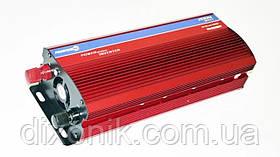 Инвертор преобразователь напряжения 2000W 24V в 220V с вольтметром