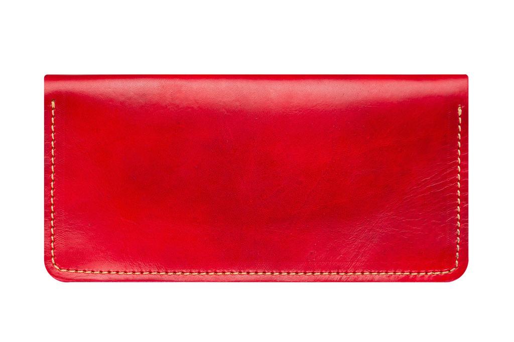 Кожаный кошелек ручной работы 7