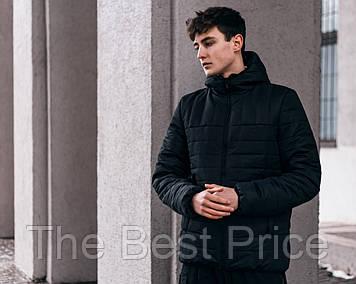 Демісезонна Куртка Temp бренду Intruder (чорна)
