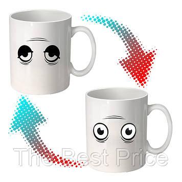 Чашка хамелеон Просыпайся 9009-4