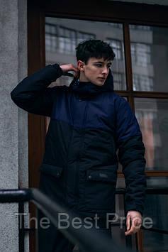 Демісезонна Куртка Waterproof Intruder (синій, чорний)