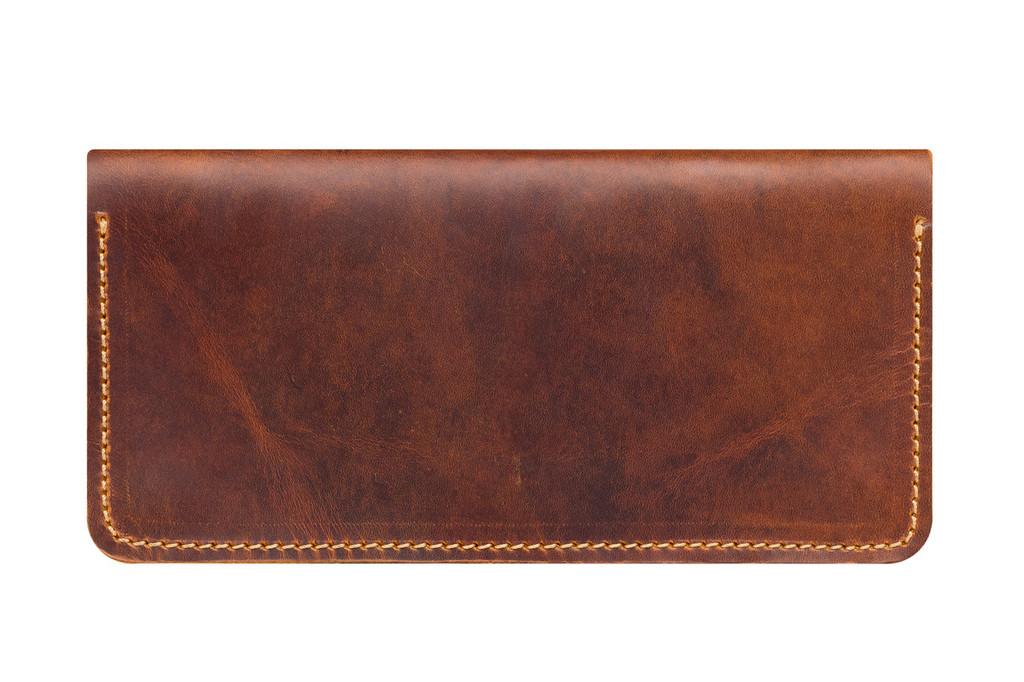 Кожаный кошелек ручной работы 10
