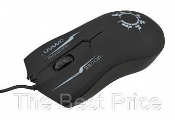Ігрова комп'ютерна миша Damn DM03 з підсвічуванням Black (65412)