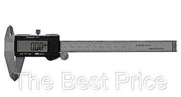 Штангенциркуль електронний Generic з LCD екраном, мікрометр в кейсі батарейки (1343)
