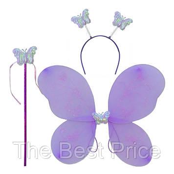 Набор Бабочки 45х35см (сиреневый)