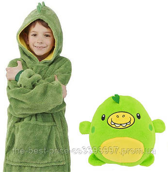 Дитячий худі-трансформер (толстовка) Huggle Pets (Дракончик)