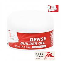 Гель Blaze Dense Builder Gel  French White, 15 мл натурально белый