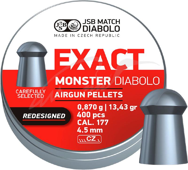 Пули JSB Monster Redesigned