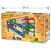 Игровой набор Wader - Паркинг на 5 уровней Kid Cars 3D с трассой 3,7 метра