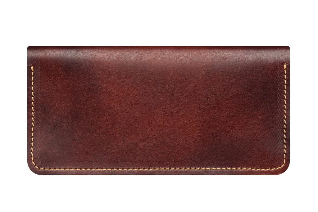 Кожаный кошелек ручной работы 16